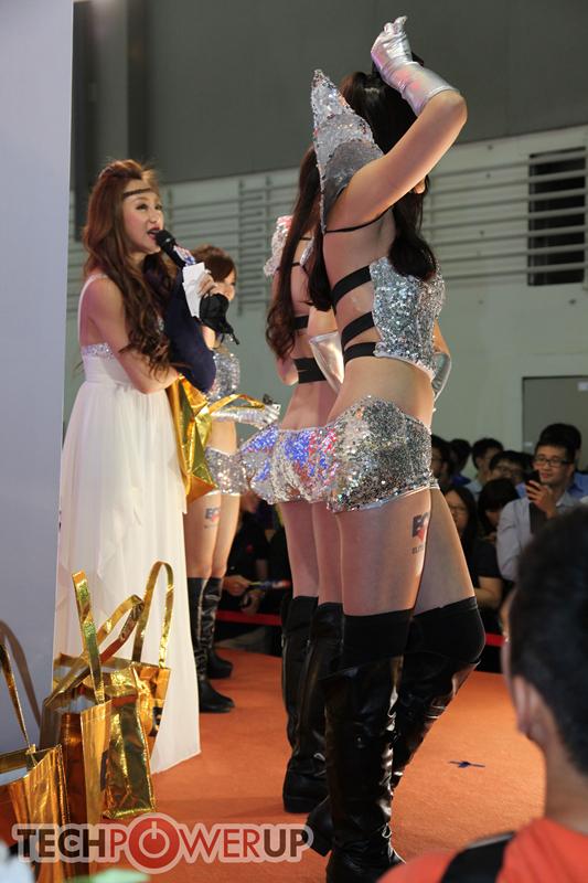 台北电脑展又一大波妹子来袭 130张ShowGirl美图一网打尽的照片 - 34