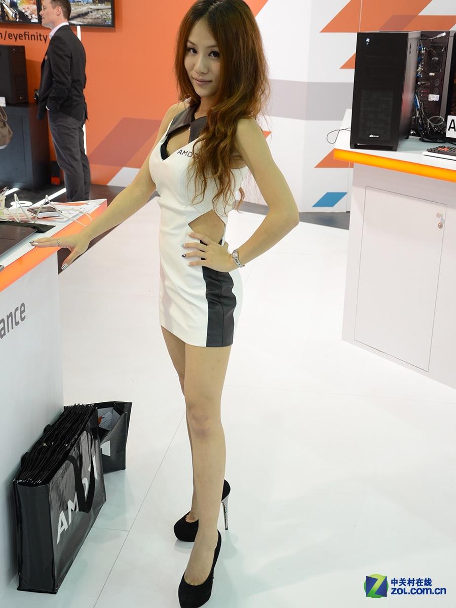 Computex 2014 诱惑嫩模图集大放送的照片 - 76