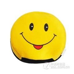 雷尊(RACCUA)暖手USB鼠标垫 可爱笑脸
