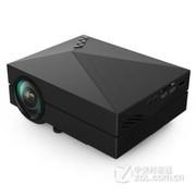 业王 GM60手机投影仪 投影机 家用高清微型投影仪 迷你 便携 电脑 笔记本 黑色 送VGA  高清线 套餐三