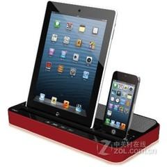 IPEGA ipad平板手机音响 黑面红边