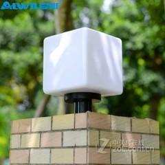 爱惟户外围墙柱头灯7002 30cm+7W白光