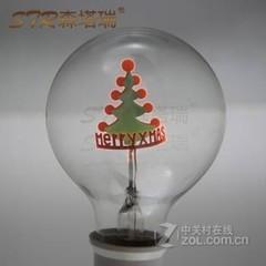 森塔瑞G80圣诞树装饰灯泡 G80圣诞树-3W