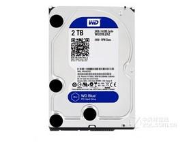 西部数据蓝盘 2TB 5400转 64M SATA3(WD20EZRZ)