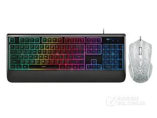 雷柏V56炫光游戏键鼠套装