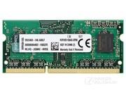 金士顿 2GB DDR3 1600(KVR16S11S6A/2-SPBK)