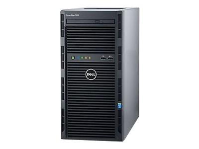 戴尔 PowerEdge T130 塔式服务器(Xeon E3-1230 v5/8GB/500GB*2) 【官方授权 品质保障】可按需订制,优惠热线:010-57215598
