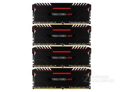 海盗船 复仇者LED 32GB DDR4 3000(CMU32GX4M4C3000C15R)