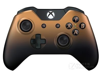 微软 Xbox One无线手柄 古铜金限量版