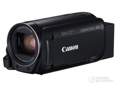 佳能(Canon)LEGRIA HF R86 / HF R806家用数码摄像机 (HFR86摄像机套餐)