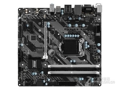 微星 B250M BAZOOKA  电竞小板,6相供电,GAMING LED背光系统,支持Optane技术,Audio Boost高保真音效