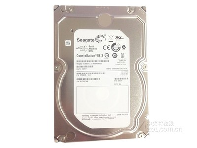 希捷4TB/7200转/SAS(ST4000NM0023)