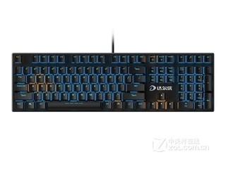 达尔优机械师合金版Cherry轴机械键盘(108键)