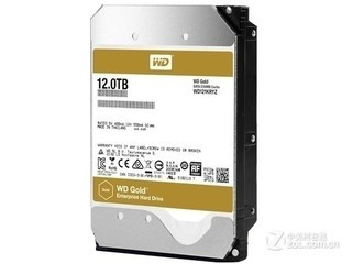 西部数据12TB/7200转/256MB 金盘(WD121KRYZ)
