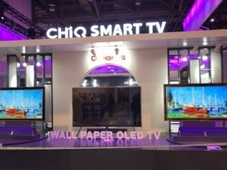 长虹WALL PAPER OLED TV