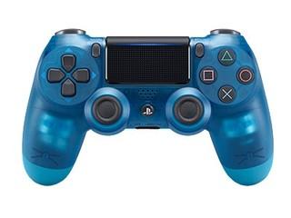 索尼PlayStation 4游戏手柄 水晶蓝