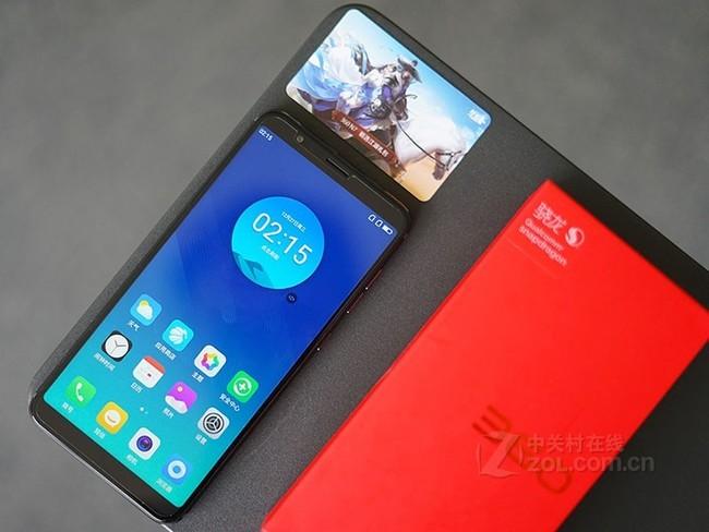 360手机 N7 全网通 6GB+64GB 石墨黑 移动联通电信4G手机 双卡双待 全面屏 游戏手机