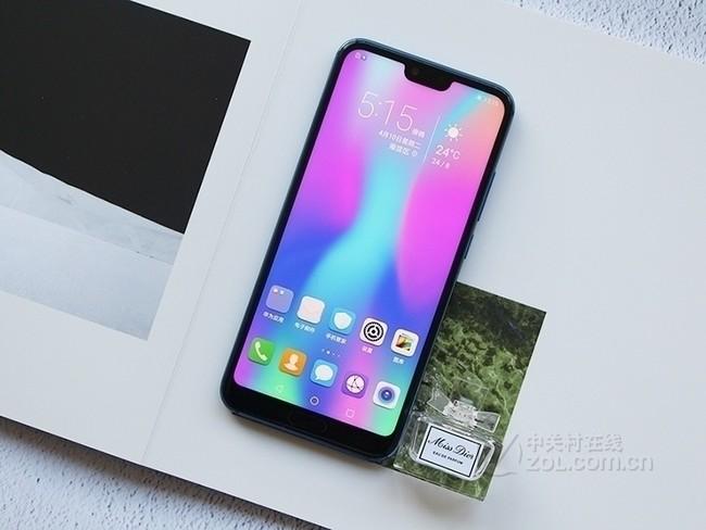 荣耀10 全面屏AI摄影手机 6GB+64GB 幻影紫 全网通 移动联通电信4G 双卡双待