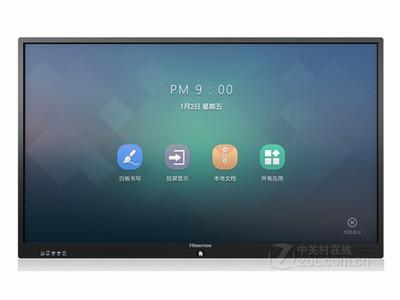 海信触控一体机 LED86W80U  商用显示,会议平板  电视 北京总代理 13910242506