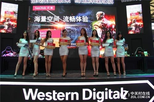 展示全新体验的产品组合 西部数据现身ChinaJoy2018