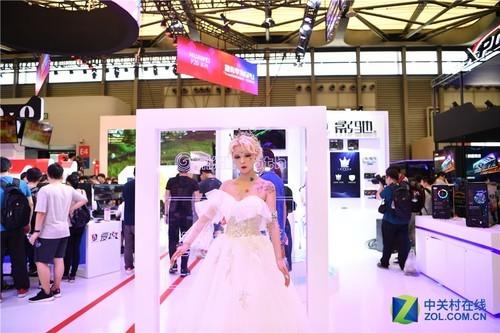 ChinaJoy2018影驰展台展出大量高端硬件产品