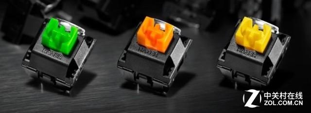 雷蛇发布黑寡妇蜘蛛精英版键盘 三轴可选