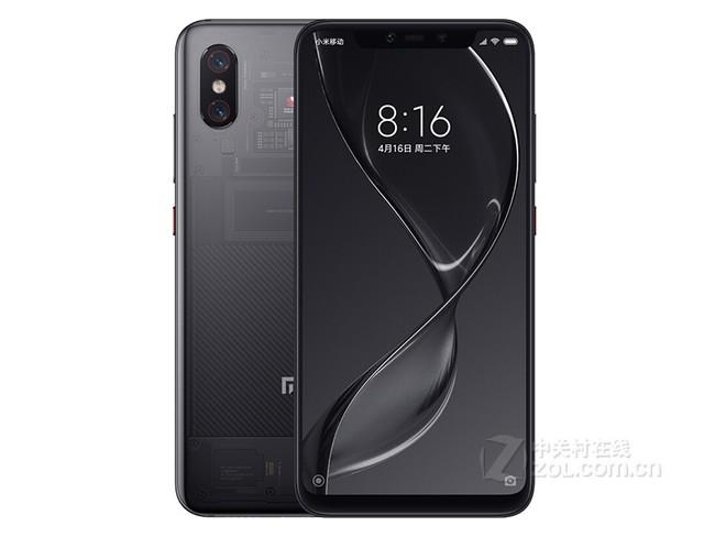 小米8 全面屏游戏智能手机 8GB+128GB 透明探索版 全网通4G 双卡双待 拍照手机