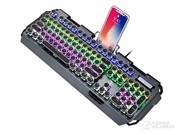 新盟 x10曼巴狂蛇复古朋克旗舰升级版键盘(黑轴)