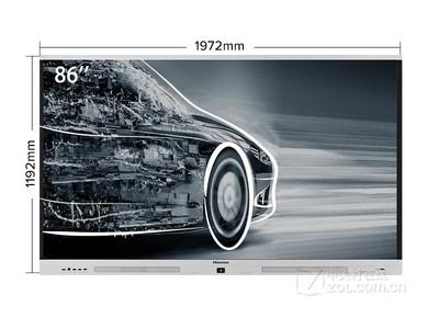海信 触控一体机 LED86W90U 触摸电视  商业显示器  会议平板 北京总经销 13910242506
