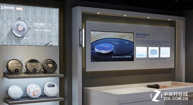 科沃斯机器人线下门店华丽升级 打造暖心科技之家
