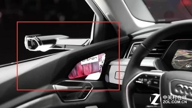 虚拟后视镜 奥迪汽车竟然这样使用OLED屏幕