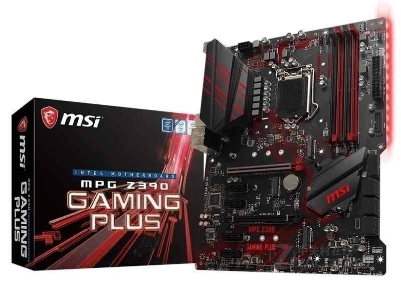 微星MPG Z390 GAMING PLUS