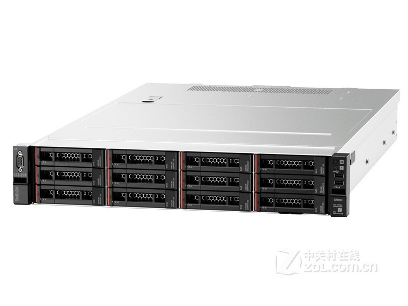 联想ThinkSystem SR590(Xeon 铜牌3106*2/16GB*4/1.2TB*4)