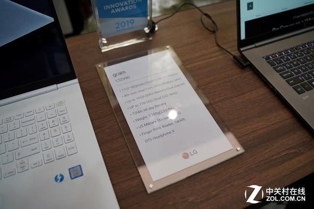 CES 2019:LG gram推新款17英寸笔记本 搭载2K屏幕