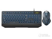 雷柏 V120S有线背光游戏键鼠套装