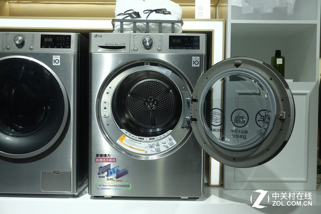 双变频热泵更高效 LG臻韵·干衣机视频评测插图