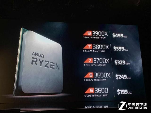 16核32线程 AMD Ryzen 9 3950X神U发布