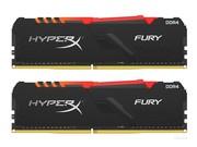 金士顿 骇客神条FURY 16GB(2×8GB) DDR4 2666 RGB(HX426C16FB3AK2/16)