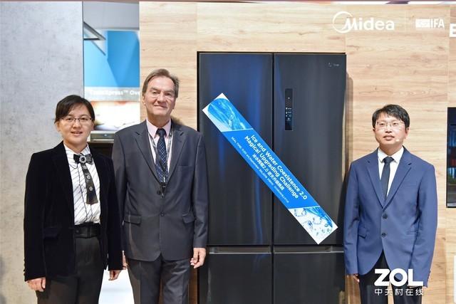 """从AWE升级到IFA 美的微晶技术以""""冰水同框2.0""""挑战印证全球领先硬核保鲜实力"""