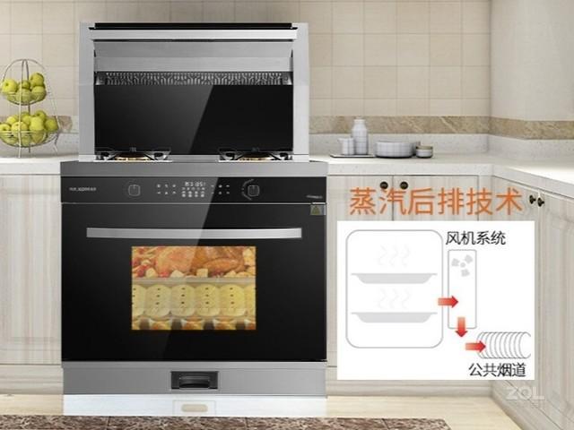 厨房新势力 科大K6蒸烤一体集成灶让你秒变大厨