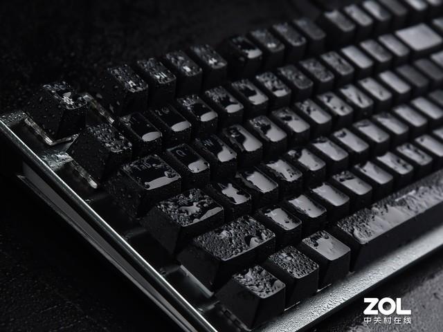 雷柏V530防水机械键盘评测 无惧键盘冒奶