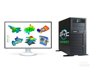 TIGERWAY W525-R/S12GM(EPYC 7F52*2/128GB/1TB+8TB/RTX4000)
