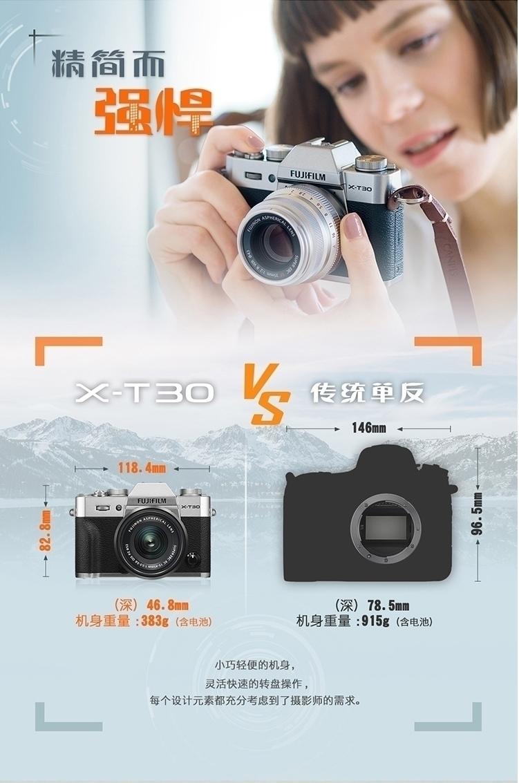 富士X-T30(单机)评测图解图片5