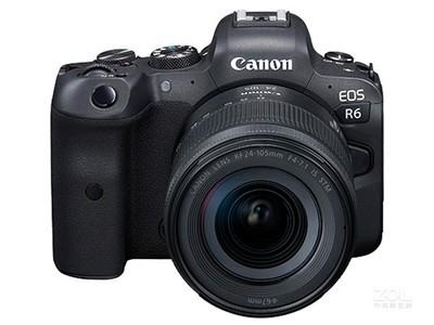 佳能 EOS R6套机(RF 24-105mm f/4-7.1 IS STM)添加店铺微信:18518774701,立减300.