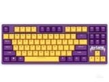 达尔优A87 KB紫金色机械键盘