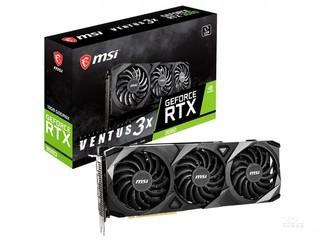 微星GeForce RTX 3080 VENTUS 3X 10G OC LHR