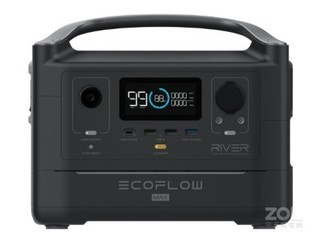 正浩RIVER 600 MAX+60W太阳能板