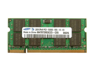 三星DDR2 800笔记本内存