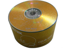 铼德佛教版面 52速CD-R(50片散装)