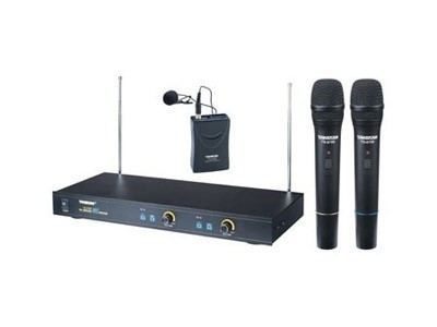 得胜 TS-6700一拖二无线话筒 家用专业舞台演出 KTV唱歌无线麦克风